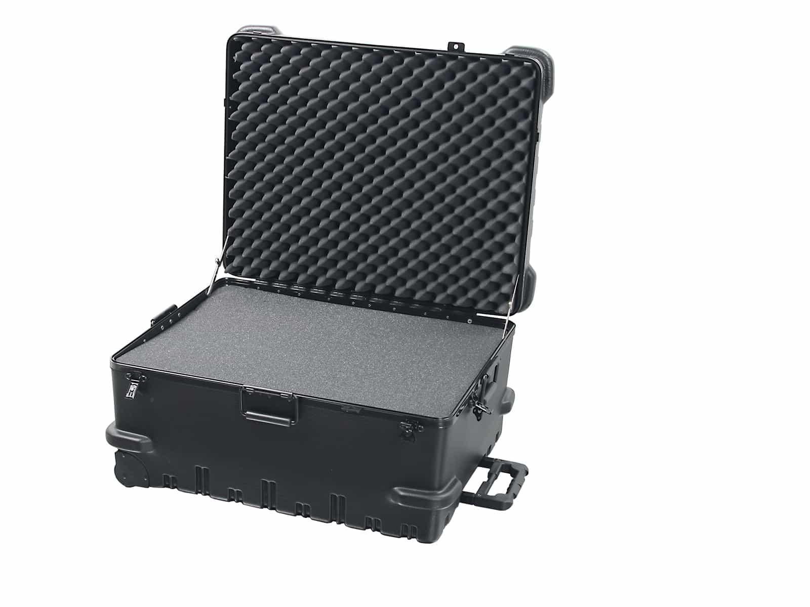 Chicago Case L 5551 Trolley Werkzeugkoffer / Präsentationskoffer inkl. Würfelschaumstoff 96 ltr.