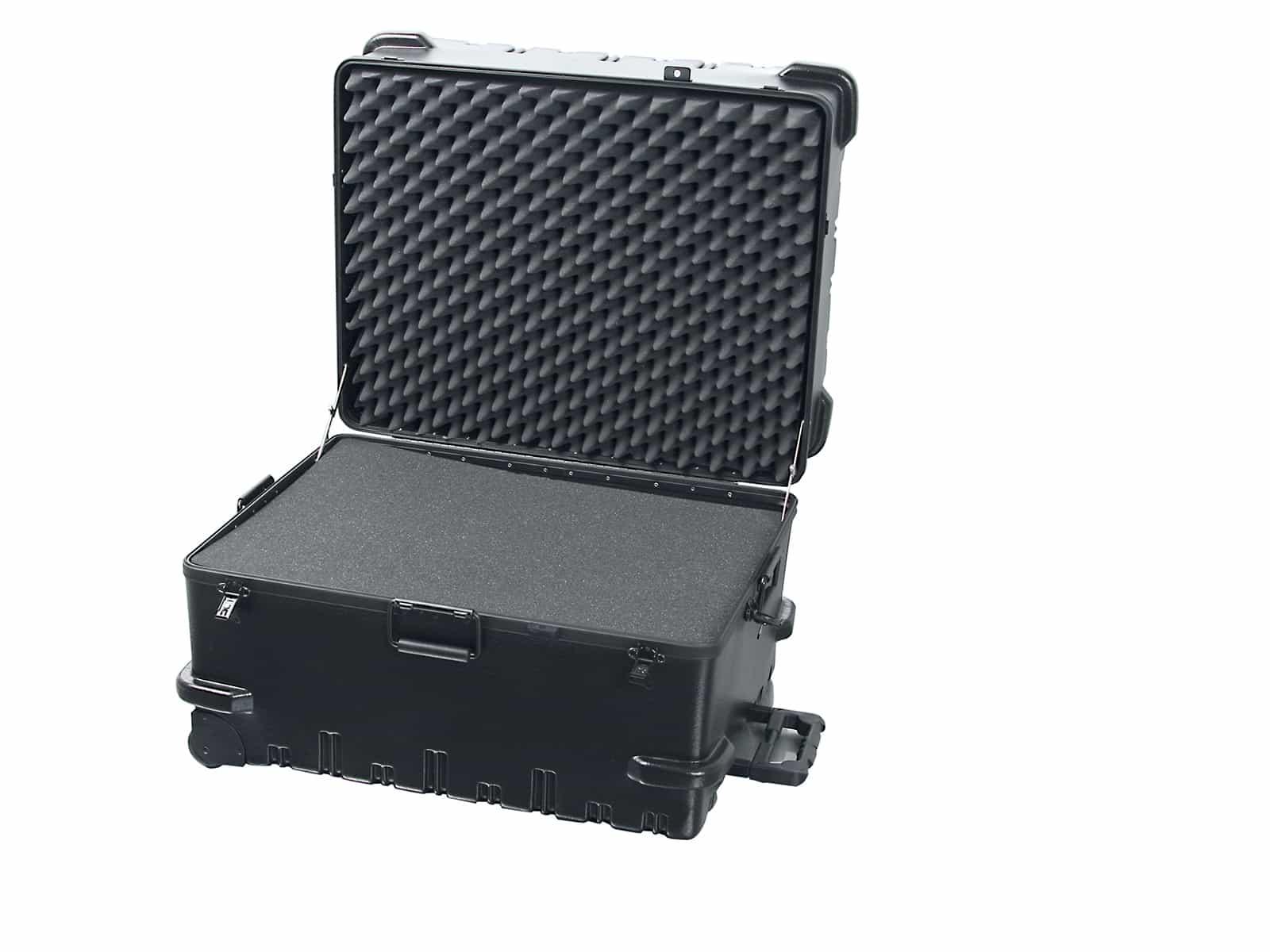 Chicago Case XL 5552 Trolley Werkzeugkoffer / Präsentationskoffer inkl. Würfelschaumstoff 163 ltr.