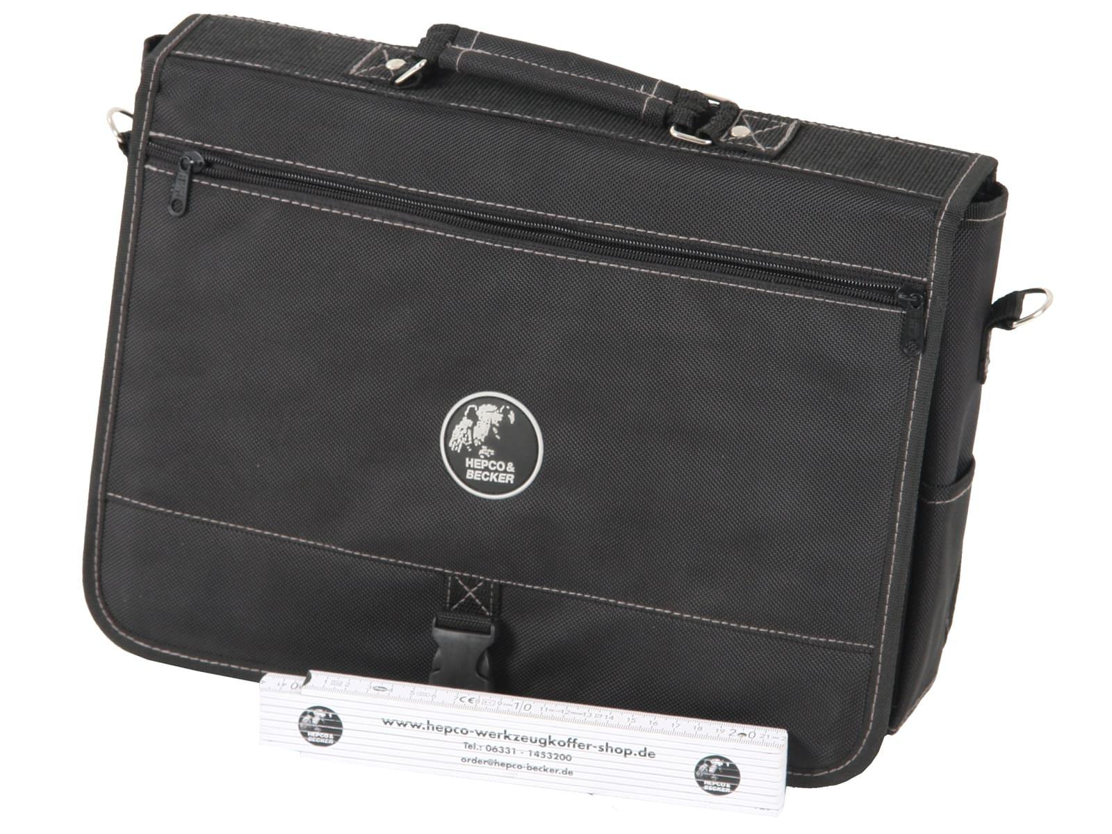 Kleine Techniker-Kombitasche für Laptop und Werkzeug 5851