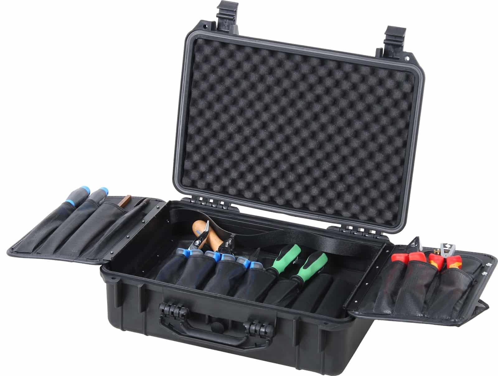 Wasserdichter Werkzeugkoffer Solid 18 ltr. 5615 inkl. Wing Werkzeugtafel