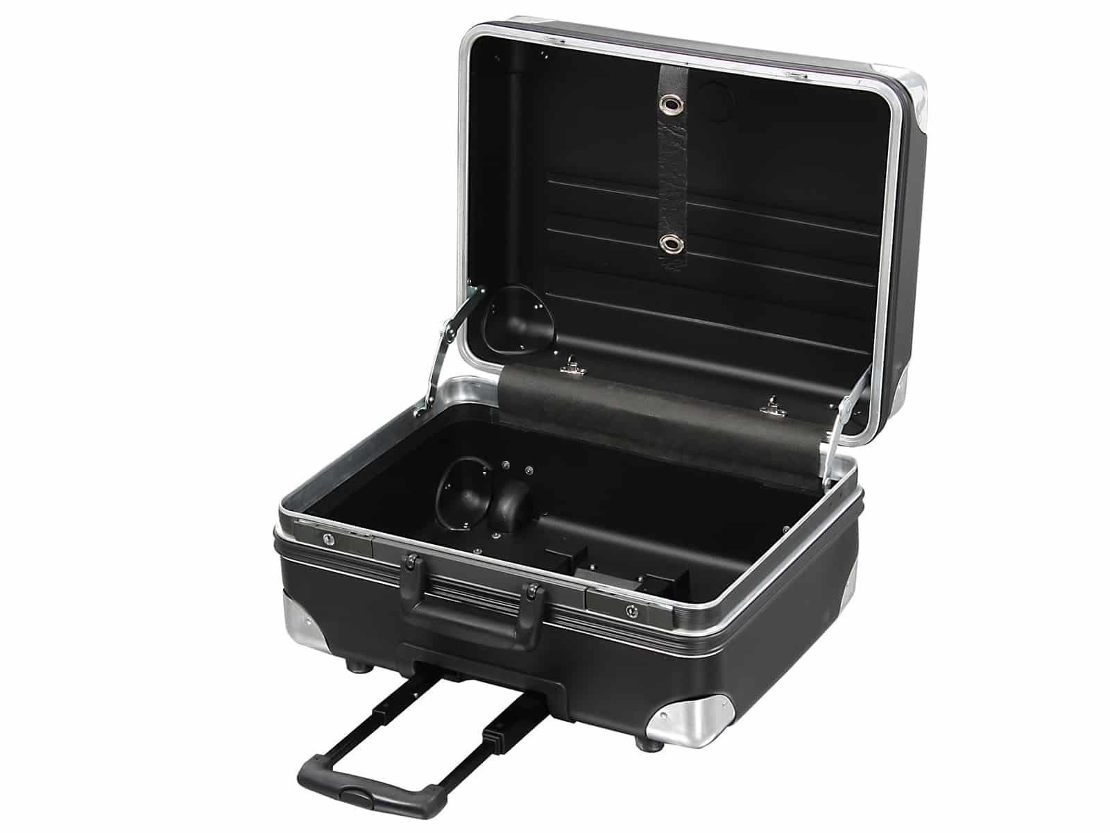 Werkzeugkoffer Robust 5770 D inkl. Trolleyfunktion 37 ltr. HDPE bruchsicher, Leerkoffer