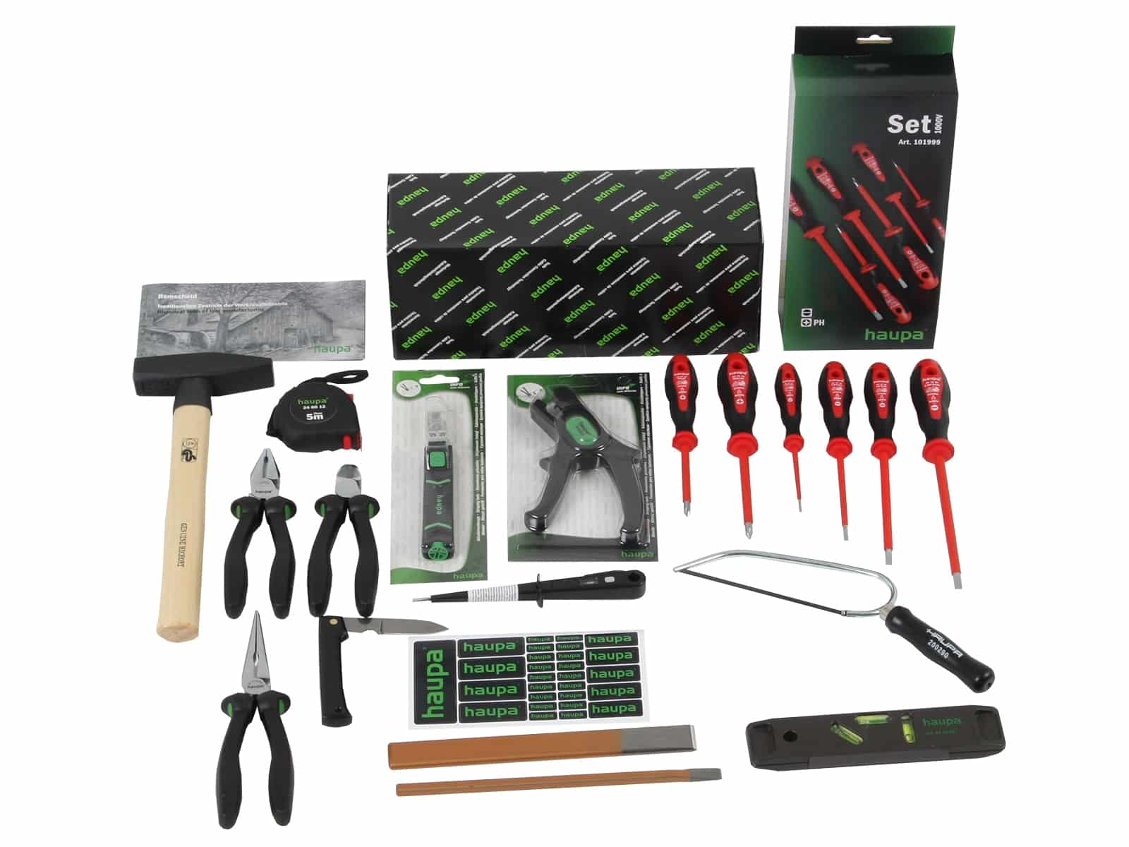 Profi-Elektriker-Werkzeugset ALPHA 20-teilig