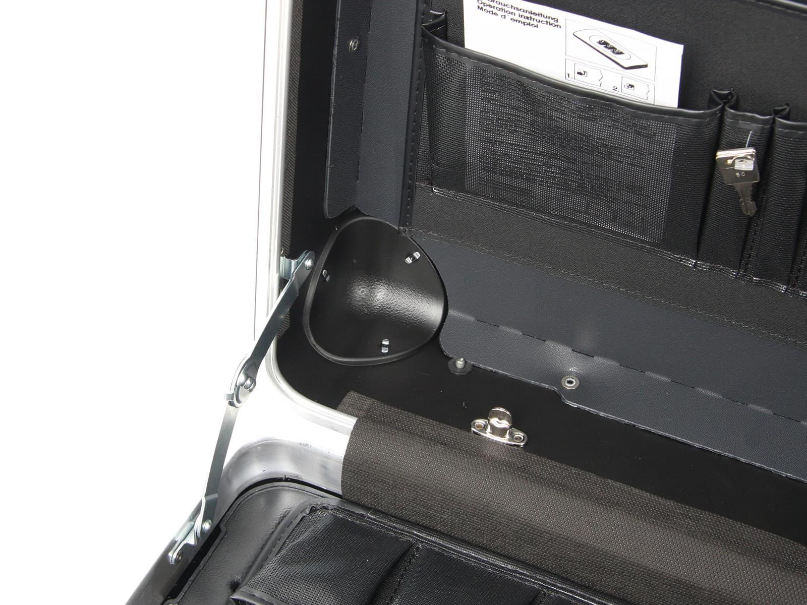 Werkzeugkoffer Robust 5770 B inkl. Trolleyfunktion 37 ltr. HDPE bruchsicher