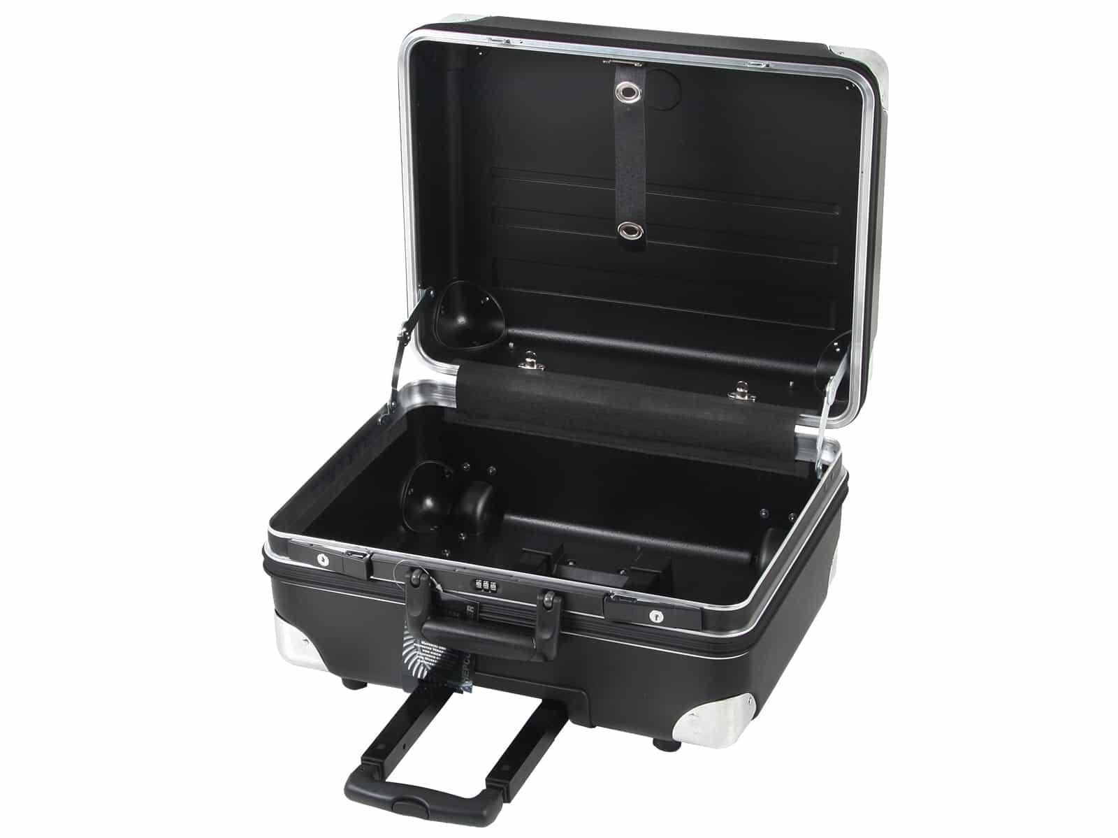 Werkzeugkoffer Robust 5775 E inkl. Trolleyfunktion 37 ltr. HDPE bruchsicher, Leerkoffer + TSA Schloss