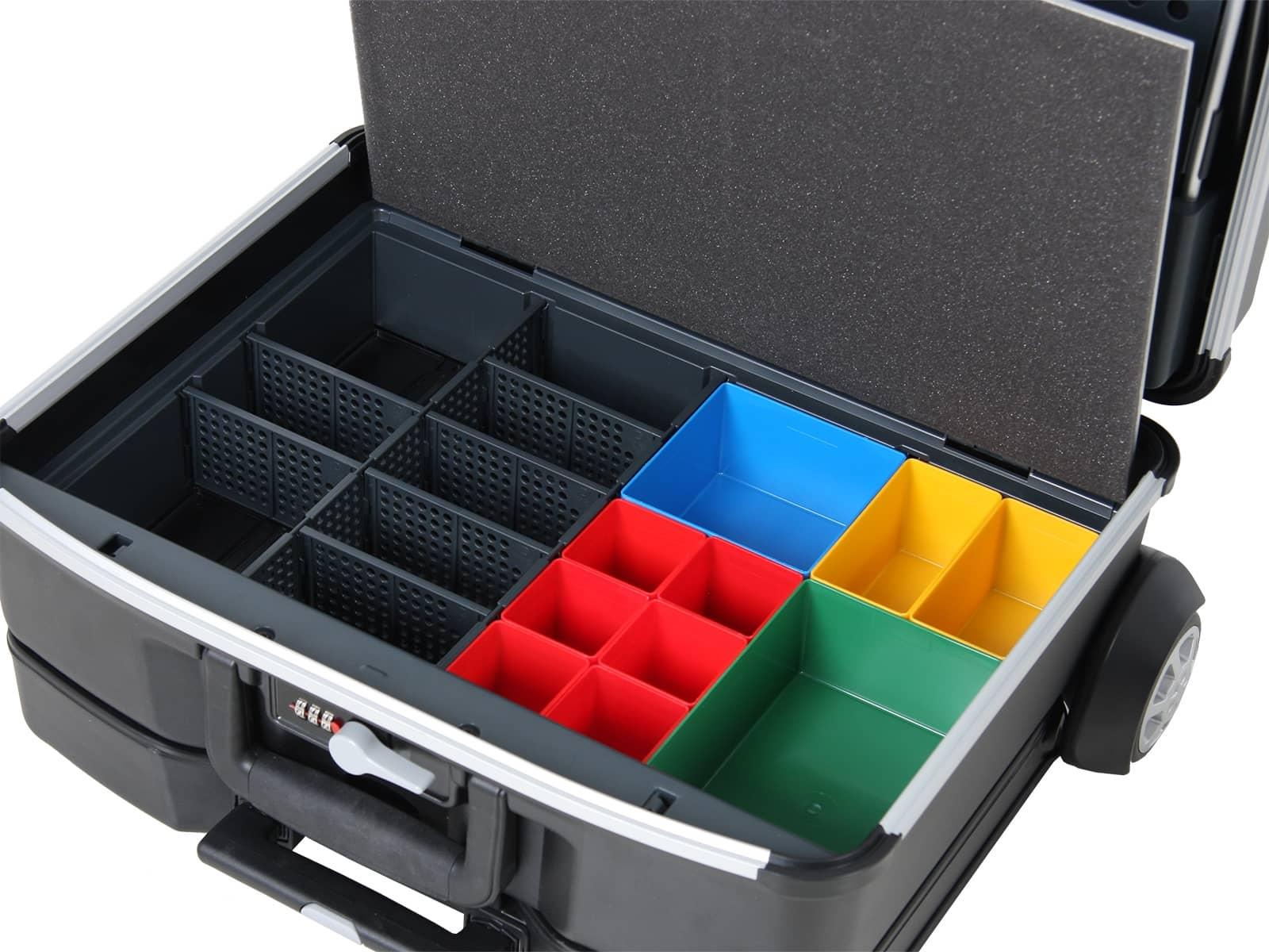 Werkzeugkoffer Vision 2100 inkl. abnehmbarer Trolleyeinheit